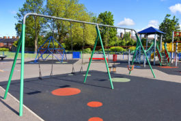 Playground-rubber