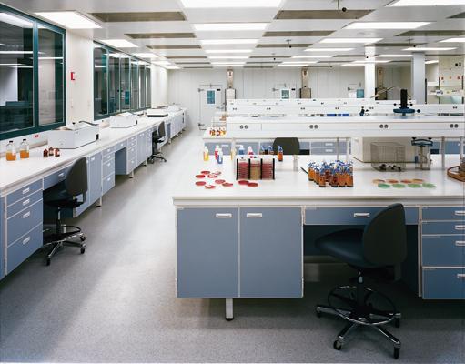 PVC pod za laboratorije