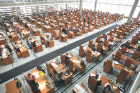 Narodna biblioteka Srbije (Halbmond)