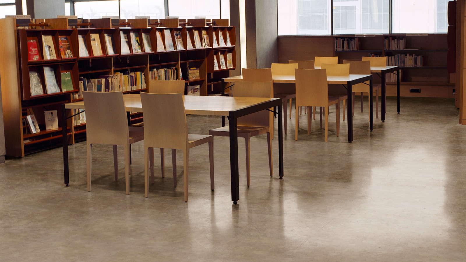 Gerflor vinil PVC podovi za biblioteke