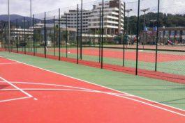 outdoor sport floor