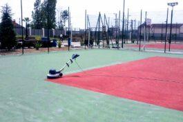 installation sport floor