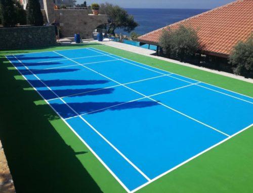 Teniski teren u Baru