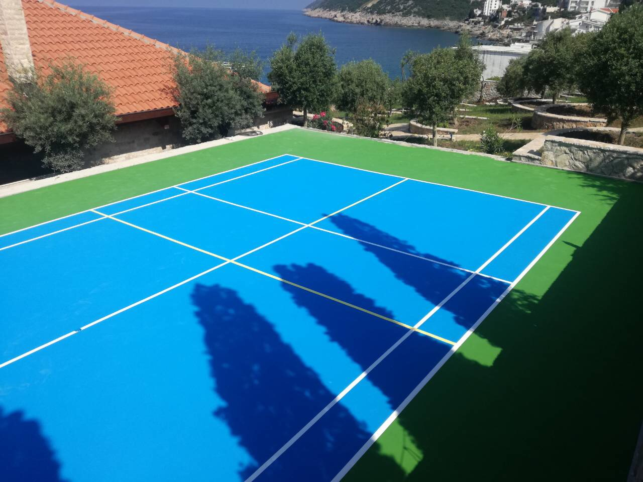 izrada teniskih terena