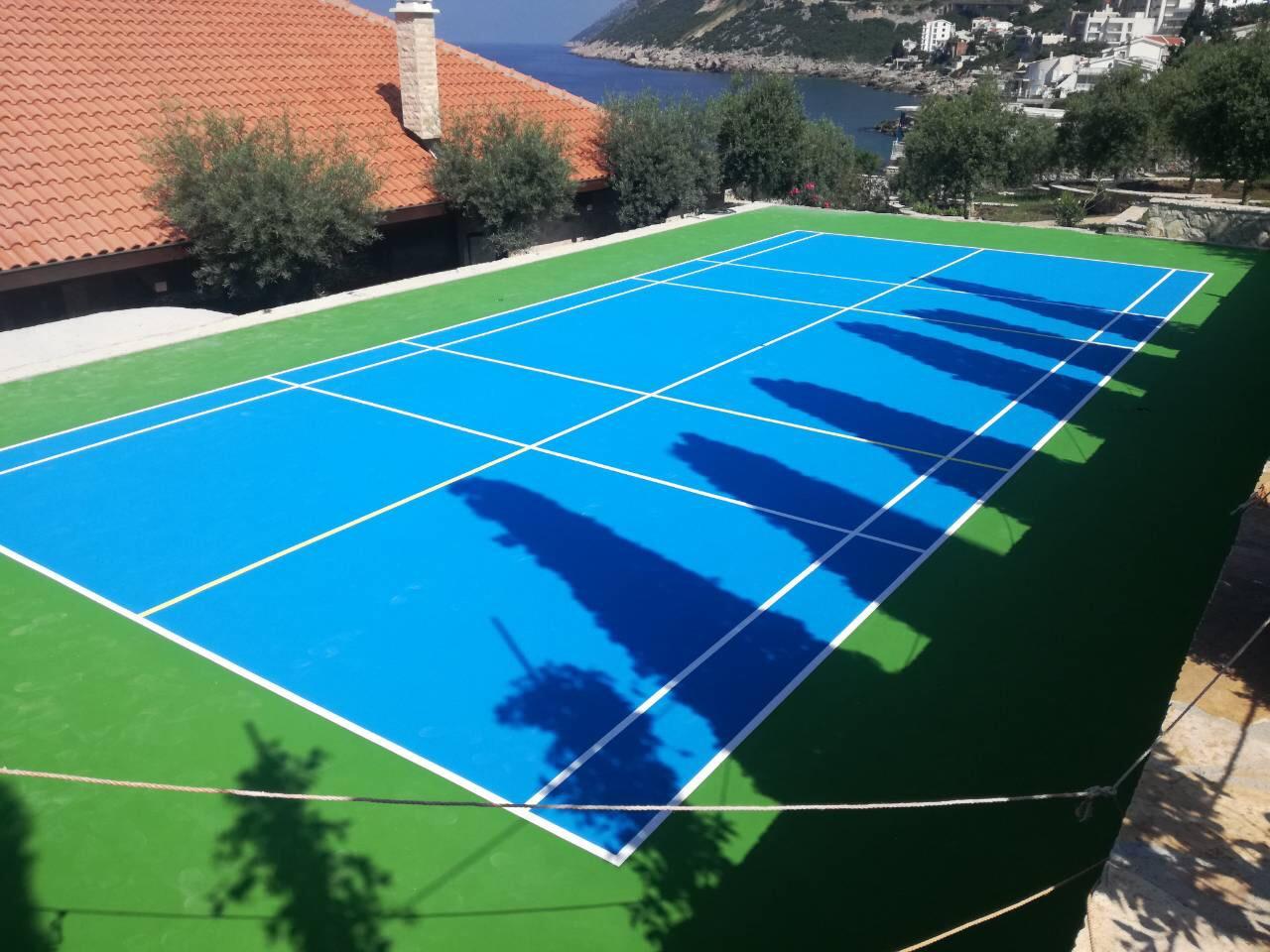 podloga za teniski teren